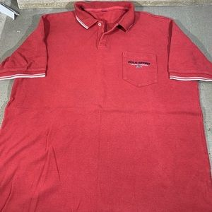 POLO SPORT Ralph Lauren Light red Collar polo M